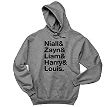 Moment Gear One Direction Band Names Mens Hoodie