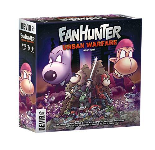 Amazon.com: Devir Fanhunter Urban Warfare estrategia juego ...