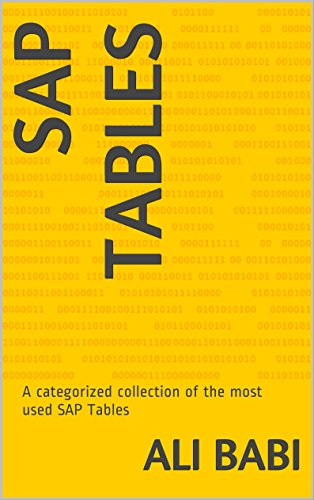 sap-tables-a-categorized-collection-of-the-most-used-sap-tables