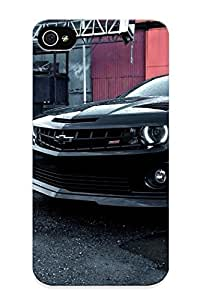 meilinF000Christmas Gift - Tpu Case Cover For Iphone 5c Strong Protect Case - Cars Muscle Cars Chevrolet Camaro Black Cars DesignmeilinF000