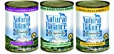 Variety Natural Balance Limited Ingredient Diets® Canned Dog Formula - 13oz x 12cans, Venison & Sweet Potato, Chicken & Sweet Potato, Duck & Potato