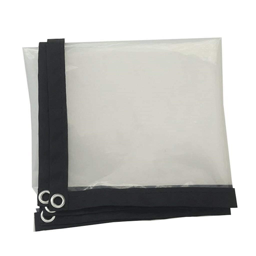 Wangcfsb Feuille imperméable Claire de bÂche de Couverture, bÂche imperméable antipoussière résistante, PE d'isolation Anti-vieillissement for Le Jardinage de pêche de Camping (Taille   5×8m)  5×8m