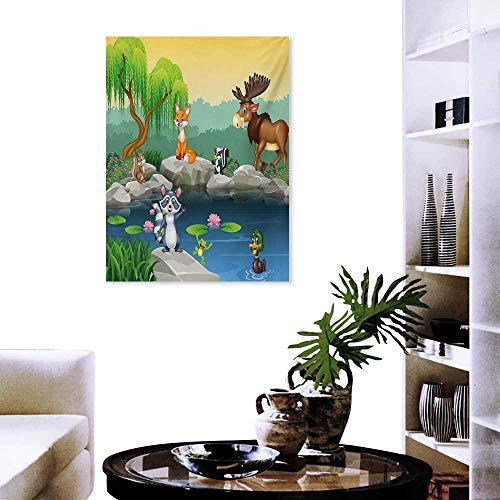 cobeDecor Camo - Juego de Adhesivos Decorativos para Pared, diseño de Camuflaje en Cuatro Camuflaje, Multicolor, Color17,...