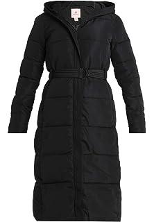 29d457f124a14b Anna Field Wintermantel für Damen - Klassischer Mantel warm gefüttert -  Coat mit gefütterter Kapuze &