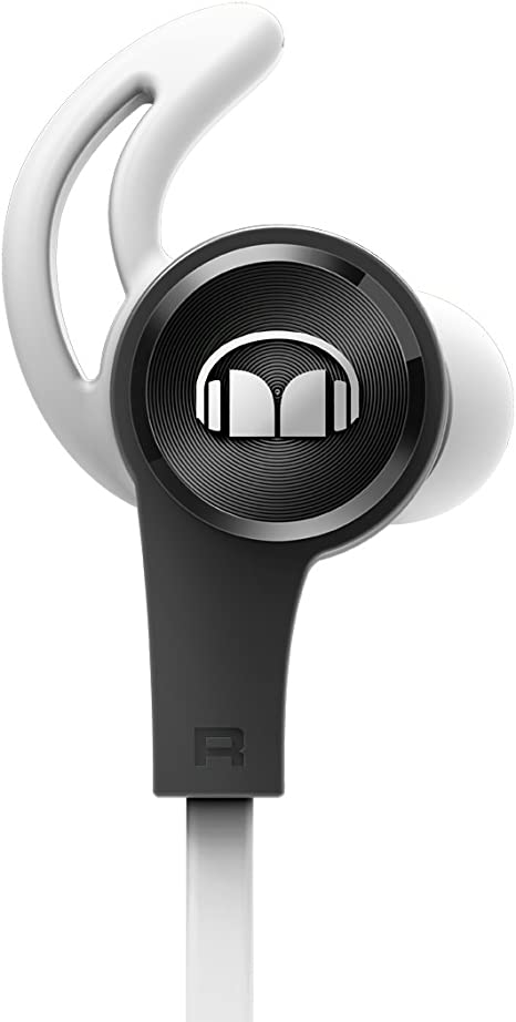 Monster iSport Achieve Headphones with Mic - in-Ear with Mic - Black