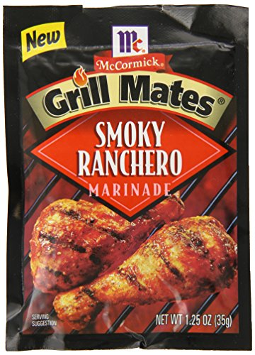 - McCormick Grill Mates Smoky Ranchero Marinade, 1.25 oz (Pack of 12)
