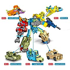 Number Transformers Toy is a practical cool toy! Get it, let your kids learn while playing, develop their hands-on ability, which will be a best surprise for them, your child's partner will envy him.  Rest assured that your child is completel...