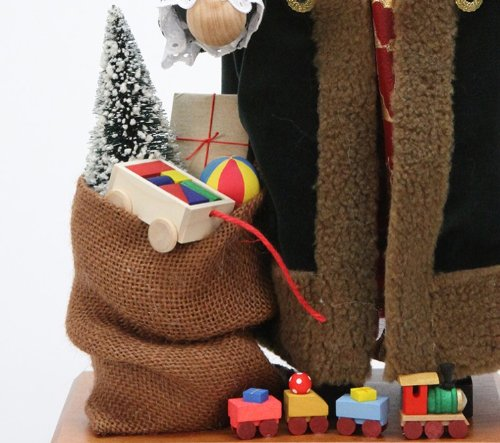 German Christmas Nutcracker - Russian Santa Claus Limited - 48cm / 19 inch - Christian Ulbricht by Authentic German Erzgebirge Handcraft