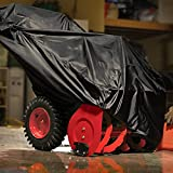 NKTM All Weather Two-Stage Snow Thrower Cover with