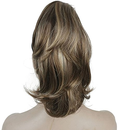 Light Brown Synthetic Ponytail Hair Extension