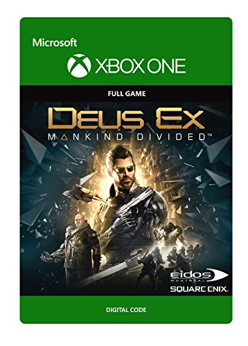 Deus Ex: Mankind Divided - Xbox One Digital Code by Square Enix