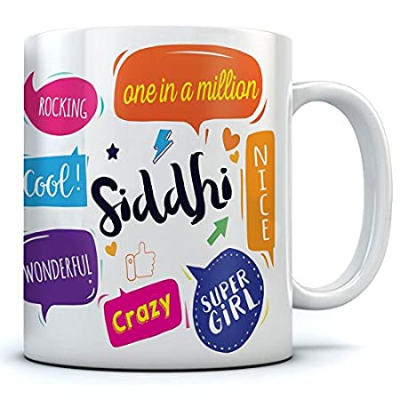 Buy Siddhi Name Printed Ceramic Coffee Mug 350 Ml Best Gift For Birthday Online At Low Prices In India Amazon In I know siddhis can be accessed through aushadhis and mantras, but most of that stuff is secret and you've got to go all the way to india, tibet, or find a legit guru to learn. siddhi name printed ceramic coffee mug 350 ml best gift for birthday