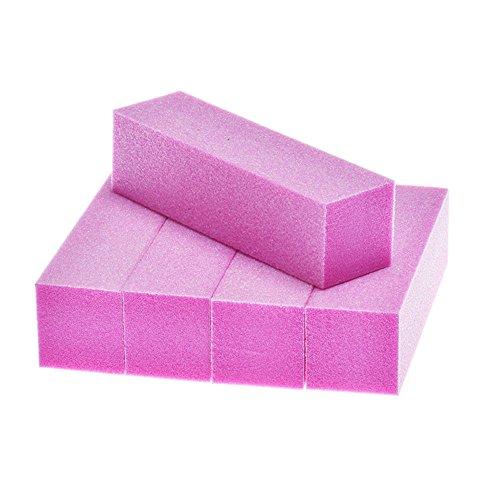 Ktyssp 5Pcs Nail Art Buffer File Block Pedicure Manicure Buffing Sanding Polish (F) from Ktyssp