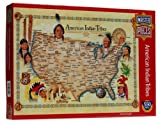 American Indian Tribes 550 piece jigsaw puzzle by Quality puzzles