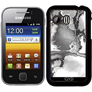 Funda para Samsung Galaxy Y (S5360) - Fractal B & W by More colors in life