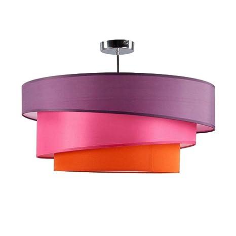 Lámpara de techo Salón plástico Modern creativo 3 Color ...