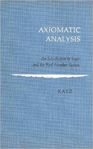 Axiomatic analysis