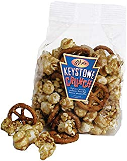 product image for Asher's Chocolates, Keystone Crunch, Assorted Varieties of Popcorn, Pretzels, and Nuts Smothered in Buttery Toffee, Small Batches of Kosher Chocolate, Family Owned Since 1892 (6oz)