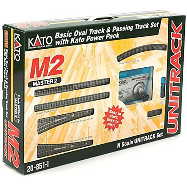 KATO N Scale M2 Endless Basic Set Master 2 20-853 Railway Model EMS w//Tracking
