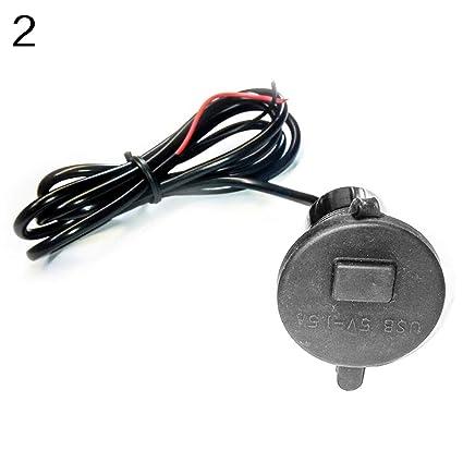 Duk3ichton - Cargador USB para teléfono móvil con Interruptor ...