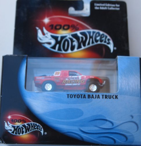100% Hot Wheels Toyota Baja Truck Red (Hot Wheel Baja Truck compare prices)