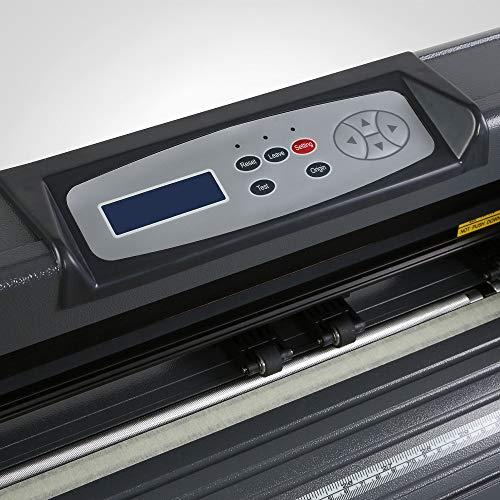 FINCOS New 53'' 1350mm Vinyl Cutter/Sign Cutting Plotter Pro W/Artcut Software Cut by FINCOS (Image #3)