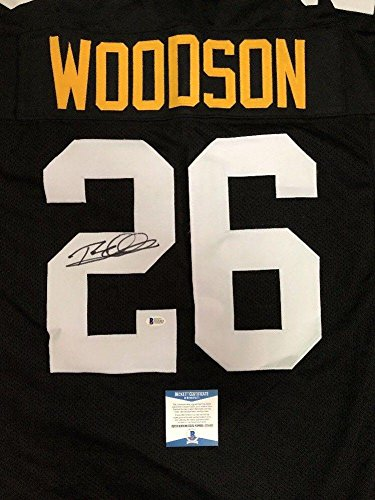 Signed Rod Woodson Jersey - Custom BECKETT BAS 1 - Beckett Authentication -  Autographed NFL Jerseys 97d305436