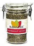 Peppermint Leaves : Dried Herb Loose Leaf Mint Tea : Caffeine-Free Kosher (0.5oz.)