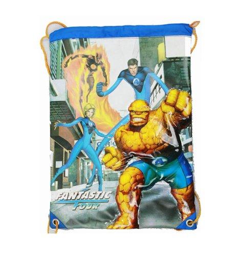 String Backpack - Marvel - Fantastic 4 - Cinch Bag New Boys f4cs01-2   B009BBP5LI