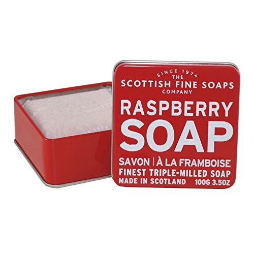 Company Raspberry - The Scottish Fine Soaps Company Soap Tin Collection - Raspberry (100)g