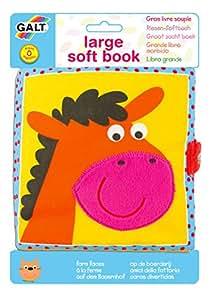 Galt GA1003730 - Libro de aprendizaje para bebé, diseño de la granja