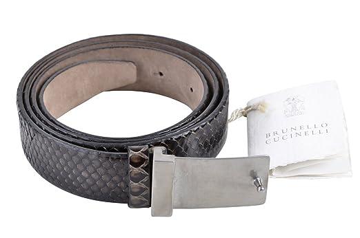 Brunello Cucinelli Gürtel Damen Schwarz Schlangenleder L  Amazon.de   Bekleidung 96a0675d0f