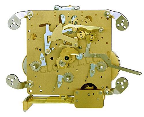 Hermle Clock Movement - Hermle 1050-020 Triple Chime Mantel Clock Movement With Bronze Bushings