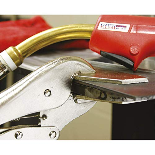 Sealey AK67 3 Piece C Clamp and Welding Clamp Set Silver