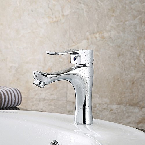 hot sale Thumb copper single hole faucet hot and cold mixer tap