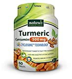 Cheap Nature's Essentials Premium Turmeric-Curcumin Extract 500mg with Advanced Cyclosome Liposomal Delivery Technology – 60 Tablets