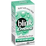 AMO Blink Contact Lubricant Eye Drops for Soft and RGP Lenses, .34-Ounce Box (Economy Package Pack of 6) Advanced-2v