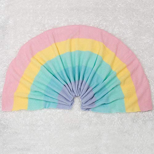 Paradise Galleries Perfect Doll Accessory for Reborn Babies, Rainbow Blanket