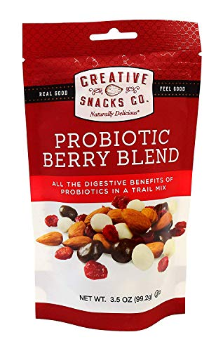Mix Creative - Creative Snack Nut Mix Probiotic Blend 3.5 oz Pack of 6