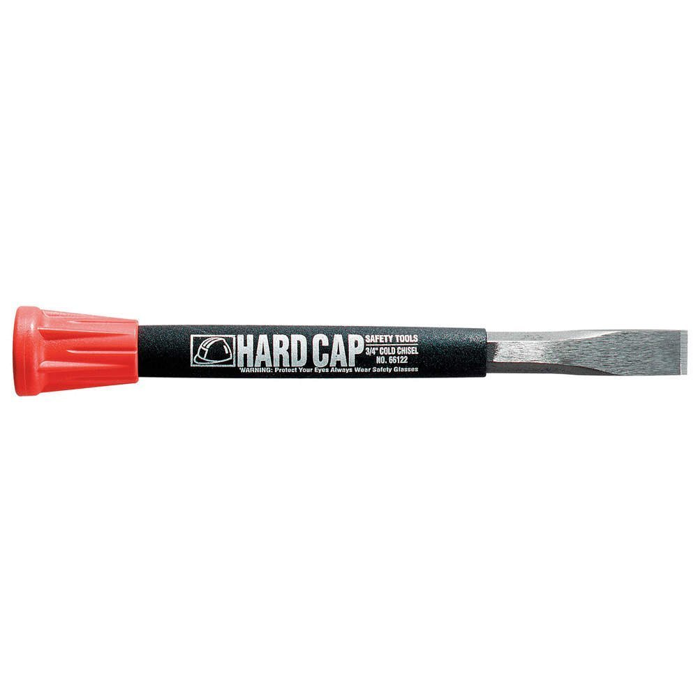 Mayhew Pro 66122 3/4-by-11-Inch Carded Hard Cap Cold Chisel
