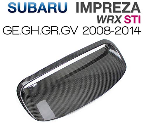 tunez Carbon Fiber Air Hood Scoop Intake Vent Bonnet for Sport Subaru Impreza WRX STI 2008-2014