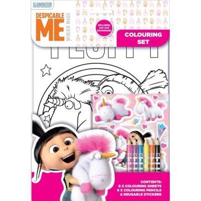 Disney–Despicable Me Fluffy Set per colorare, flcst