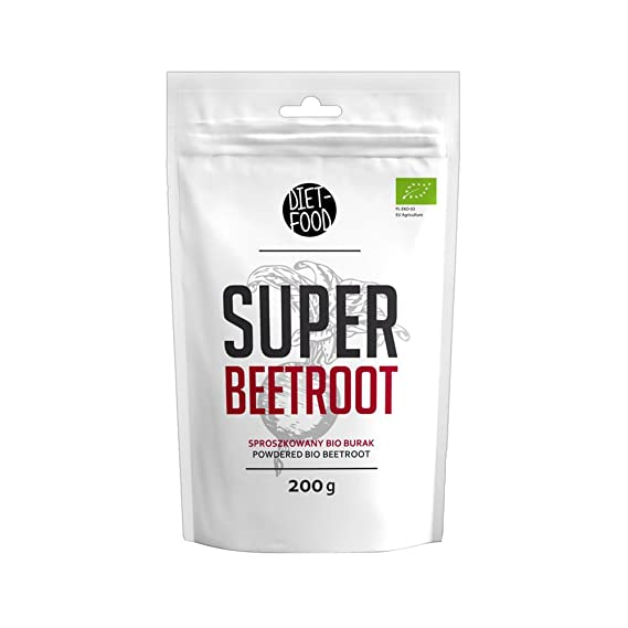 Diet Food Super Beetroot Powder Organic 200 gr - Remolacha
