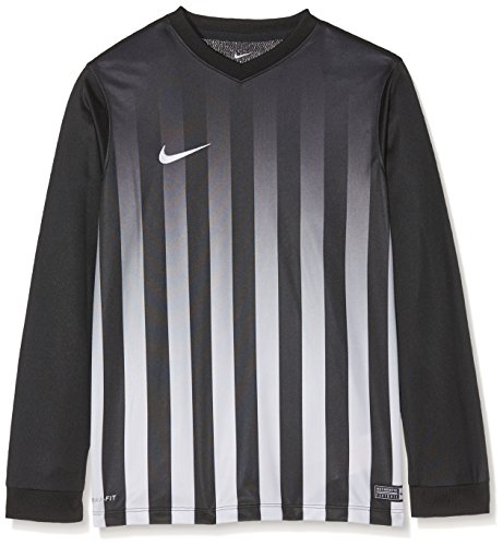 white Nike Enfant Ii Jsy Yth Striped Negro Pour Division white black Ls nbsp;t nbsp;– Blanco shirt nxnHv6
