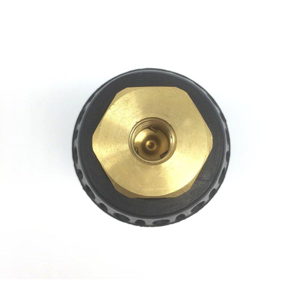 Pressure Washer Rotating Turbo Nozzle Ceramic Core 5000 PSI YOKING YK-TB01 1//4 QD Plug 3.0 Black