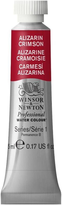 Winsor & Newton Professional Water Colour Paint, 5ml tube, Alizarin Crimson
