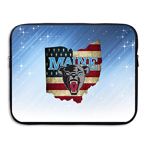 ZOENA Maine Black Bears Waterproof Notebook Carrying Bag 13-15 Inch (Party City Richardson)