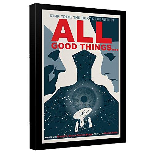 Star Trek: The Next Generation All Good Things... Juan Ortiz Poster Canvas Wall Art -