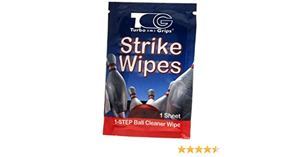 Amazon.com : Turbo Grips Strike Wipe Carton (25-Sheet) : Bowling Equipment : Sports & Outdoors