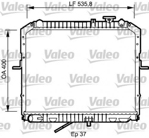 Miraculous Amazon Com Engine Cooling Radiator Valeo Fits Kia Bongo K2700 2 7L Wiring Cloud Oideiuggs Outletorg